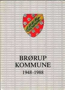 Brørup Kommune 1948 - 1988. 50 kr